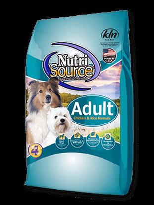 NUTRISOURCE ADULT DOG CHICKEN & RICE